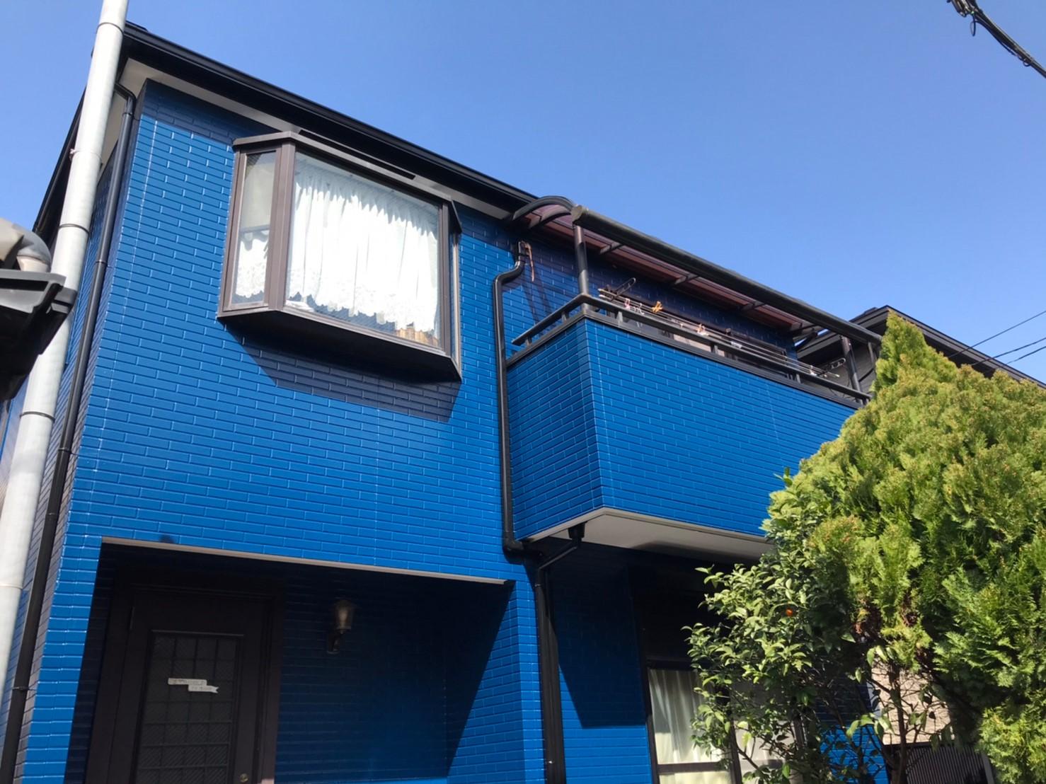 施工後-神戸市東灘区O様邸 外壁・屋根塗装リフォーム工事