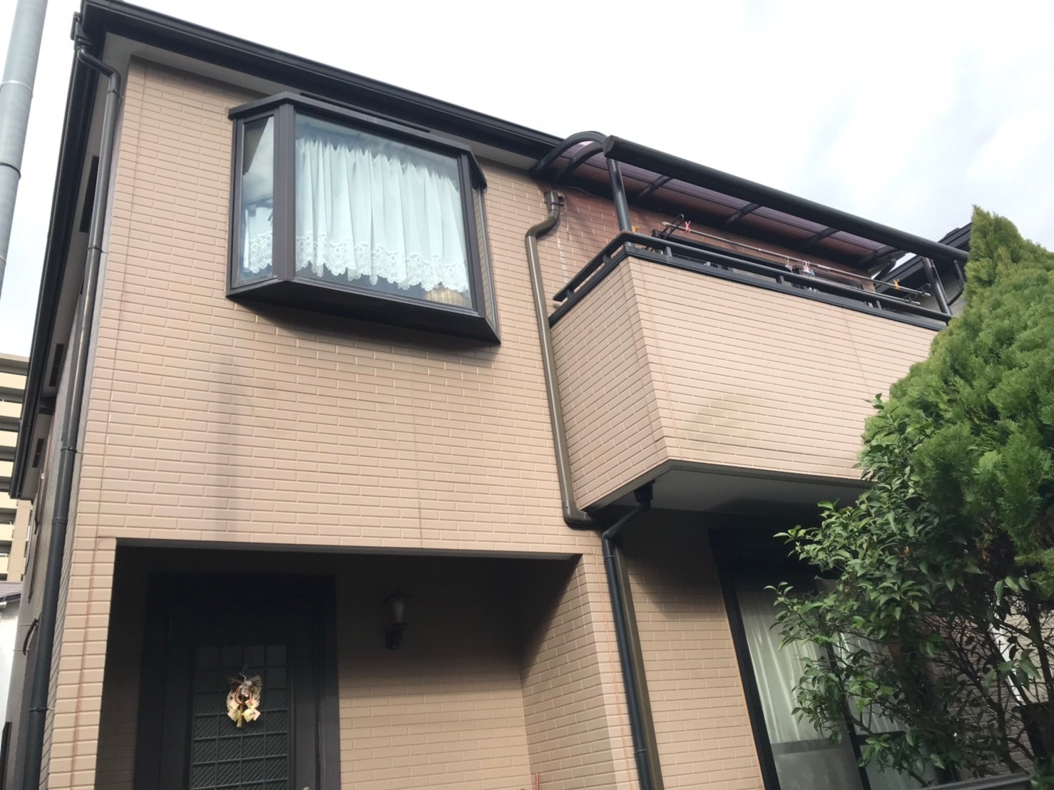 施工前-神戸市東灘区O様邸 外壁・屋根塗装リフォーム工事